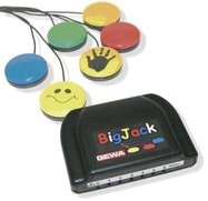 IR sender Big Jack for styring av Radio/CD/TV